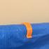 PVC pipe cloth clip image