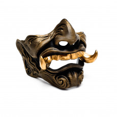 Picture of print of Samurai - inspired mask
