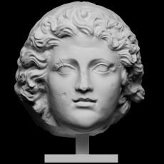 Monumental Portrait Head of Alexander the Great