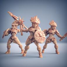Incas Warriors - 3 Units (AMAZONS! Kickstarter)