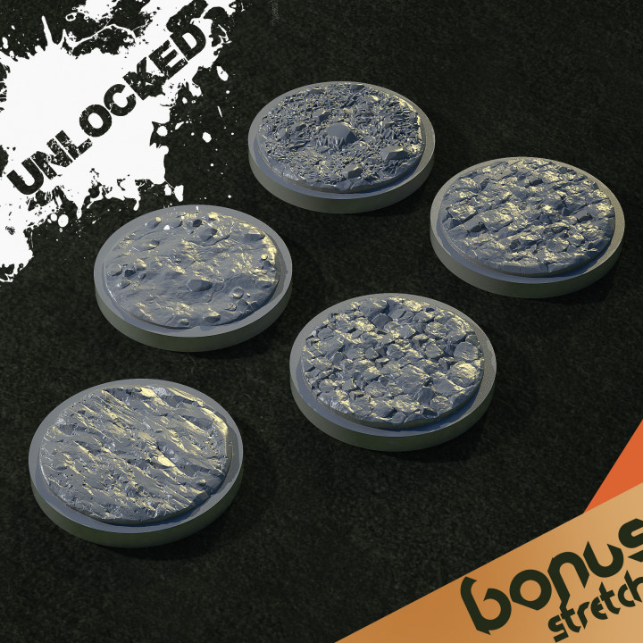 BONUS: 25mm Bases's Cover