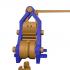 Elevador de Leonardo , según el dibujo de Leonardo da vinci. image