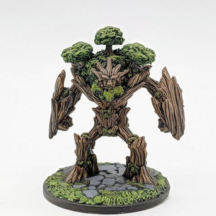 With Base: 1st Guardian: Treant's Cover