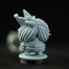 Picture of print of Mushroom Cloud Shroomie Miniature