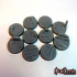 25mm Trench Style Bases (Comes with Pre Supported Files) image