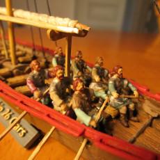 Viking Oarsmen (Improved)