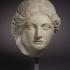 Marble Head of a Apollo image
