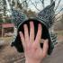 Kitsune inspired half mask image