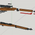 Arisaka Type 99 Rifle - scale 1/4 image