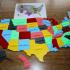 USA map puzzle image