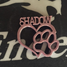 Picture of print of Love Dog Shadow