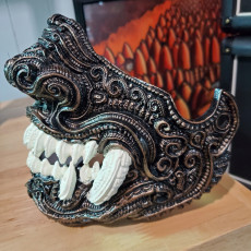 Picture of print of Oni JAWS