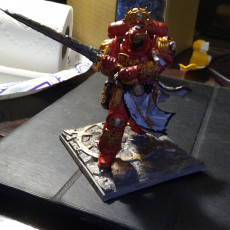 Picture of print of Crusader With Diorama