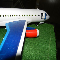 Picture of print of Airliner toy set inspired by Airbus A318