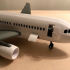 Airliner toy set inspired by Airbus A318 image
