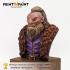 Adventurer Dwarf bust image