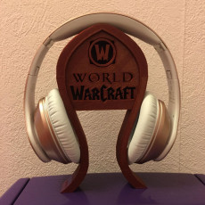 Picture of print of World of Warcraft headphone stand