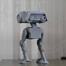 Picture of print of Star Wars droid BD-1