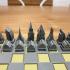 Architecture Chess Set image