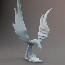 Fenix decorative sculpture