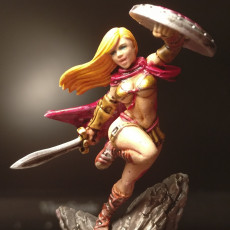 Picture of print of Crescendia - Greek Warrior - 32mm - DnD -