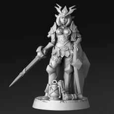 Iletia- Elven Warrior Princess - 32mm - DnD