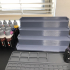 Storage rack system for Hobby paints image