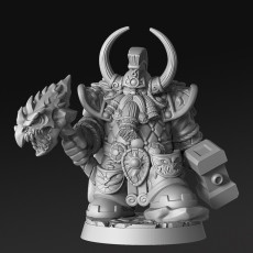 Dragonthyr - Dwarf King - 32mm - DnD -