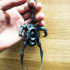 Half-Life Alyx Armored Headcrab Articulated Keyring image
