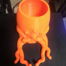 Picture of print of Cthulhu Dice tower