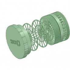 COVID-19 Coaxial Filter for mask