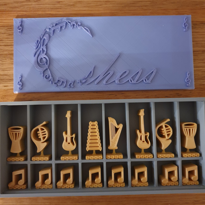 Music Chess Set