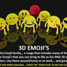 3D Emoji's