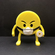 Picture of print of 3D Emoji's