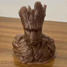 Picture of print of Groot Bust