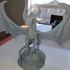 Picture of print of Ancient Green Dragon