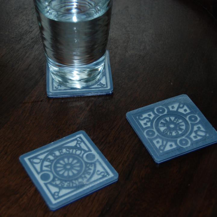 Roman Utility Coasters