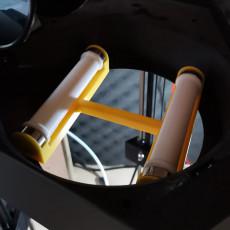 Flux delta spool holder