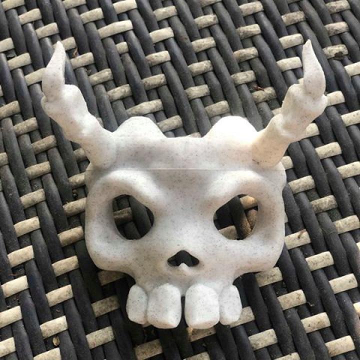 Skull Mask Ocarina of Time Concept version