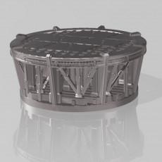 50mm Base - Sci-fi Space Platform