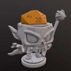 Necromancer Dice Head