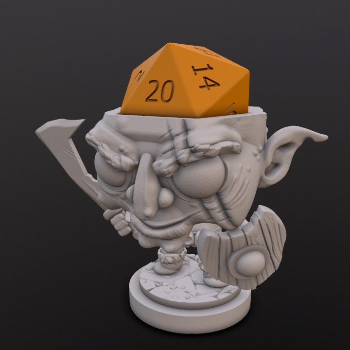 Goblin Dice Head's Cover