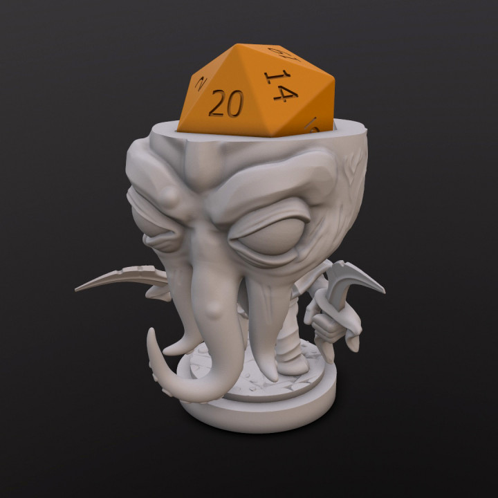 Mindslayer Assassin Dice Head's Cover