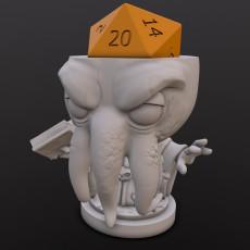 Mindslayer Spellcaster Dice Head