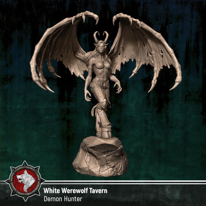 Demon Hunter - World of Warcraft (Fan art)