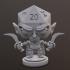 Elf/ Drow Rogue Dice Head image