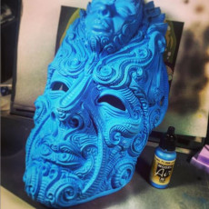 Picture of print of Mask of eternity