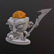 Goblin Hunter Dice Head