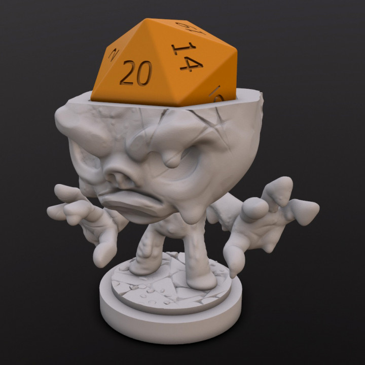 Clay Golem Dice Head's Cover