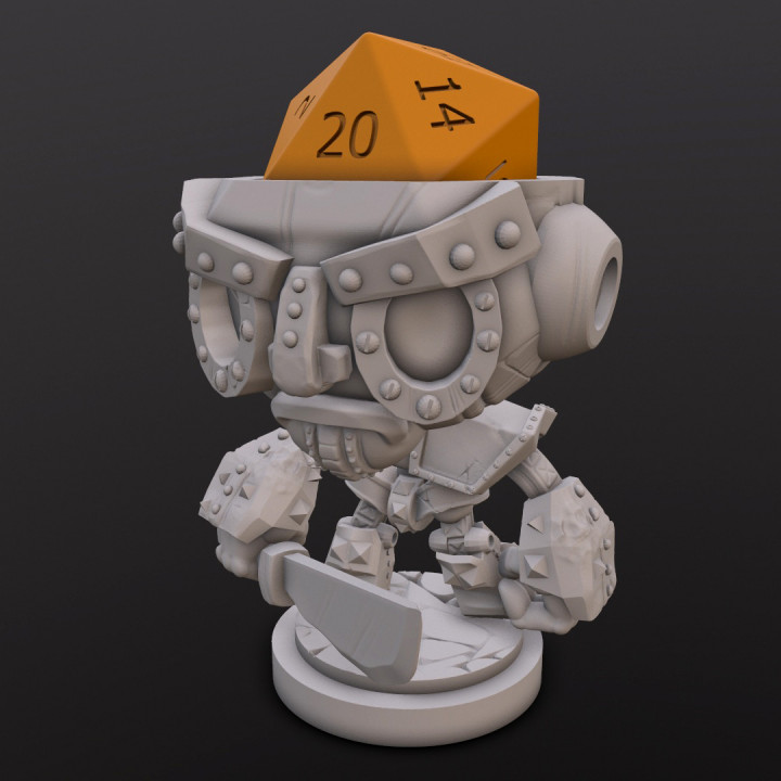 Iron Golem Dice Head's Cover